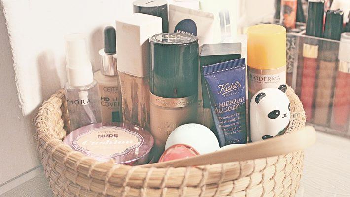 Compras de maquiagem